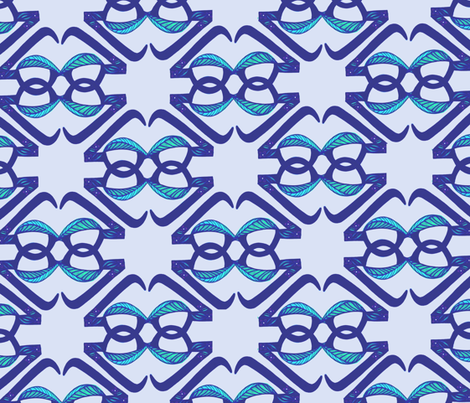 Glasses-Repeat2 fabric by insomniousnyc on Spoonflower - custom fabric