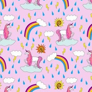 unicorn sunshine pink