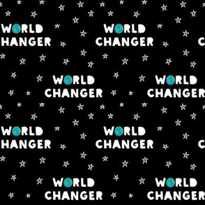 WORLD CHANGER - Black