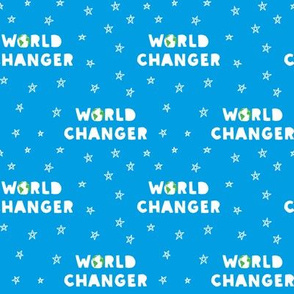 WORLD CHANGER - Blue
