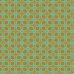 turquoise toffee