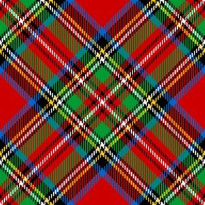 06629648 : bias tartan : Stewart Royal (mini)