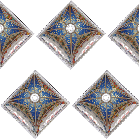 Madrid_Cathedral_Dome fabric by heather_bird_fabrics on Spoonflower - custom fabric