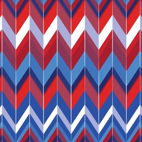 Zigzag Patriotic