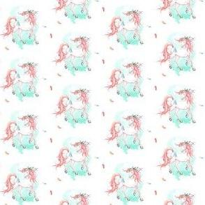 "1.5"" Pink Boho Horse"