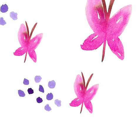 Pink-watercolour-butterflies-with-purple-dots-9500px_shop_preview