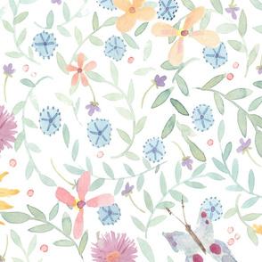Scattered Floral 2