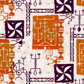 Hawaiian Petroglyphs 1b