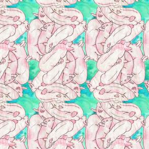 Pig Pile - Pink