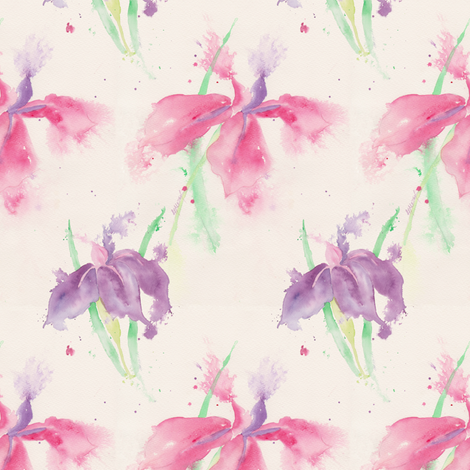 Delicate_large_pattern fabric by wildflowerfabrics on Spoonflower - custom fabric
