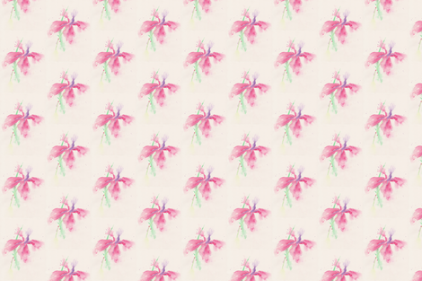 Delicate_Floral fabric by wildflowerfabrics on Spoonflower - custom fabric