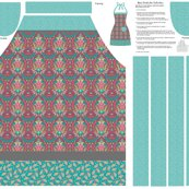Mod_gray_floral_damask_cut_sew_apron_shop_thumb