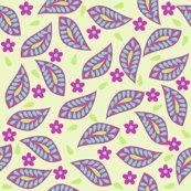 Rrfloral_damask_hip_leaves_green_magenta_shop_thumb