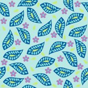 Rfloral_damask_hip_leaves_turquoise_shop_thumb