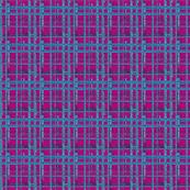 Mesh Grid Fuchsia Upholstery Fabric