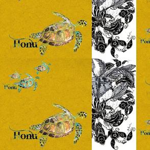 Honu Saffron Feathers