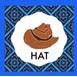 Cowboy Book Hat