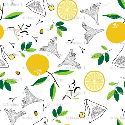 lady gray lemon