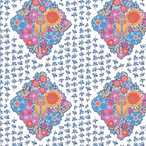ramatuelle motif over lavender