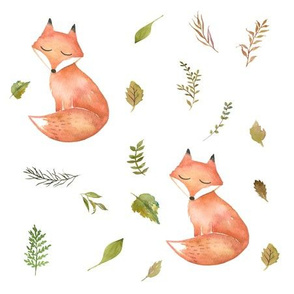 Woodland Fall Fox