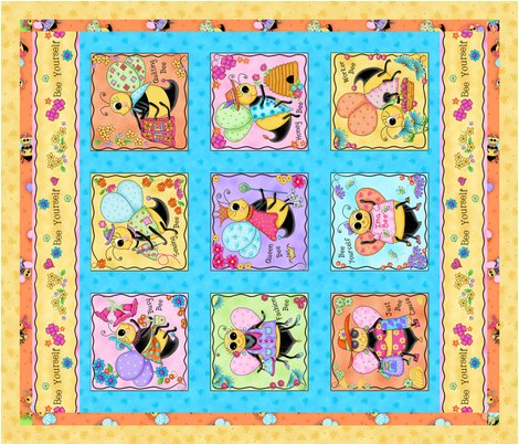 Rwhimsy_honey_bees_wholecloth_quilt_shop_preview