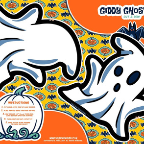 Halloween Hoopla - Ghost - Cut & Sew