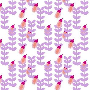 Kowhai Flowers Lilac