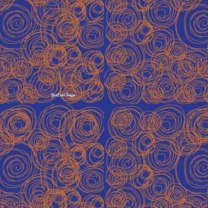 Stitched-spirals-orange-and-blue-design_logo