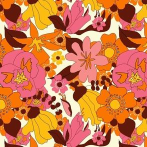 Retro NZ Floral