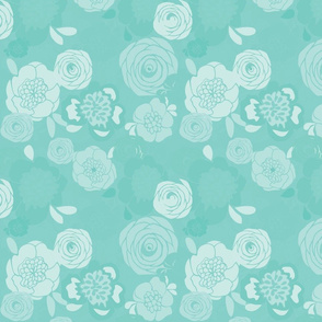 gray_teal_floral