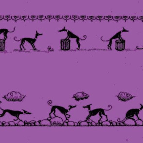AnniCoyne_Hound_parade_2_Row_ForSnood Purple_300dpi-ch-ed-ed-ed-ch