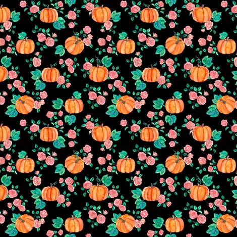 Rpumpkins_and_roses_pattern_base_small_on_black_shop_preview