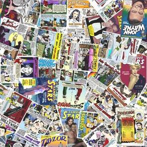 vintage comic book celebrity