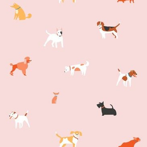 Pink puppies