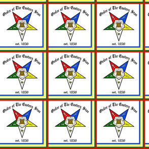 OES - Order of The Easter Star Block