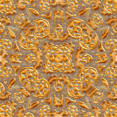 Rfaux_gold_embossed_look_spiral_triangles_preview