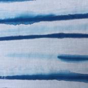 Blue Brushstroke Stripe