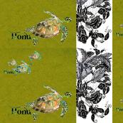 Honu Topaz Feathers