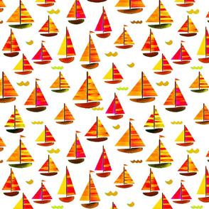 Sailing Holiday White