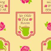 #SAGE Tea_Room Sign