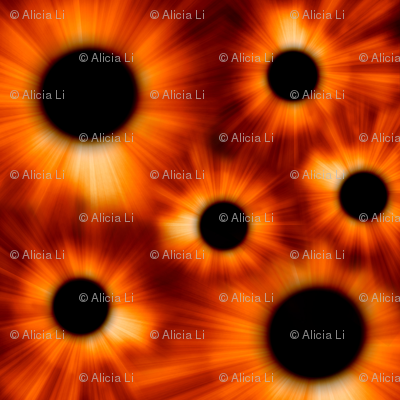 Solar Eclipse Kaleidoscope