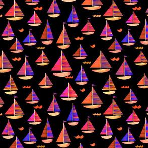 Sailing Holiday Black