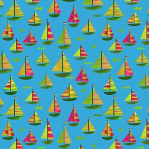 Sailing Holiday Blue