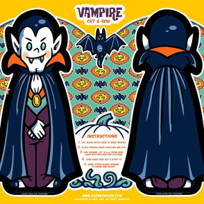 Halloween Hoopla - Vampire - Cut & Sew