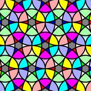 06638010 : R6 circle mix 4 : rainbow