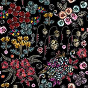 Floral Inspiration (Black)
