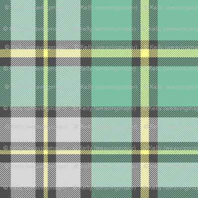 "Cape Breton tartan, 6"" faded colors"