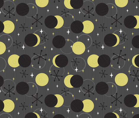Eclipse of the Century fabric by robyriker on Spoonflower - custom fabric