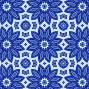 Blueberry Digital Floral