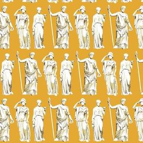 Kolonaki Goddess - Mustard